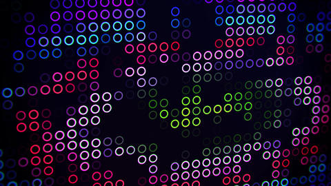 Colorful Abstract Circles VJ Loop Motion Background Backdrop Animation
