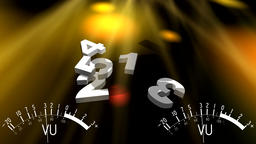 Countdown. Opening, beginning, start. Music, party, show, karaoke, dancing CG動画素材