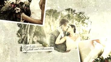 Vintage Wedding Slideshow Plantilla de After Effects