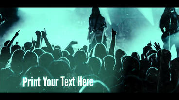 Energetic Rock SlideShow Opener Intro Logo After Effects Template