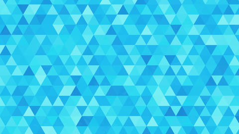 Triangles animation, pattern of geometric shapes. Colorful-mosaic background Animation
