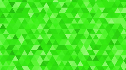 Abstract animation with flashing triangle CG動画素材