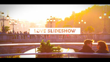 Love Slideshow After Effects Template