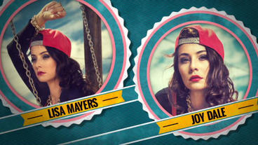 Retro Fashion Slideshow After Effects Template