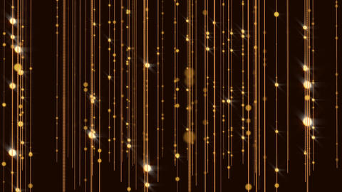 Golden Wall Background Glitter Animated Gorgeous Flicker Particles Animation