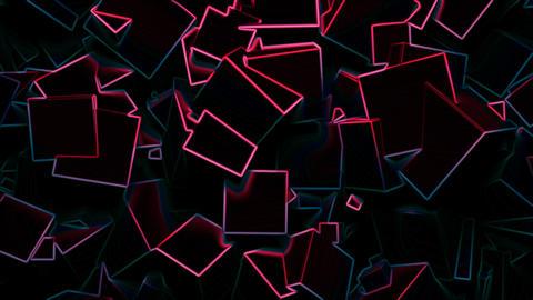 Cube wall Animation