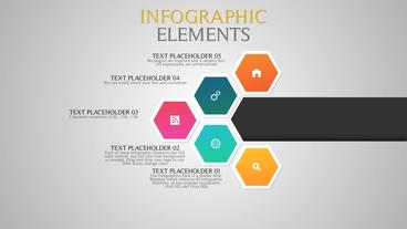 Infographic Elements Plantilla de After Effects