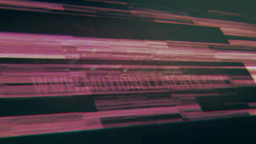 Neon Glitch Logo After Effects templates