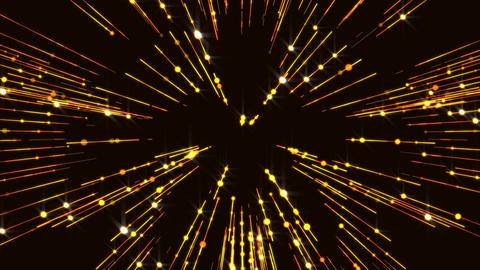 Glitter Flicker Golden Wall Animated Particles Gorgeous Lines Background Animation