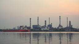 Oil refinery - Industry plant Archivo
