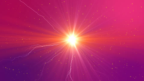 Colored Electric Background Animation