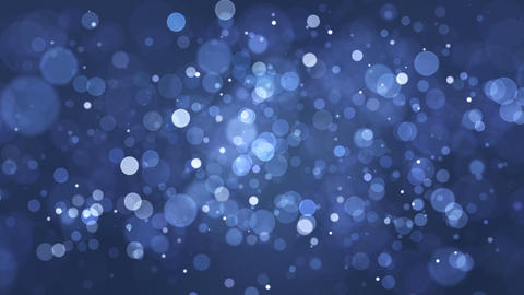 Elegant Blue Particles Background Loop Animation