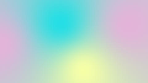 Clean Pastel Colors Background Loop Animation