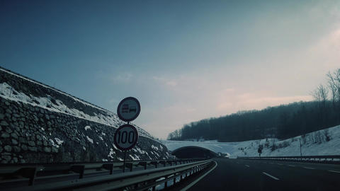 Beautiful Winter 4K Footage