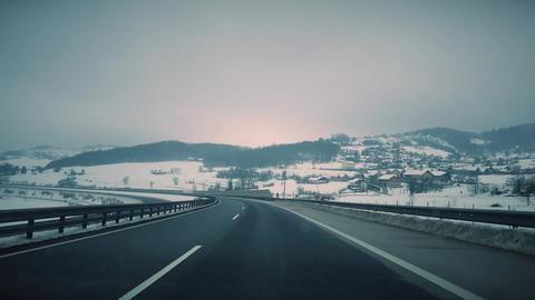 Beautiful Winter 4K Footage 2