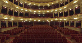 Inside the Opera True pearl of European architecture Footage