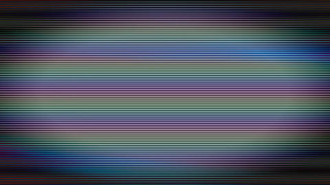 Colored Bad Tv Signal Screen Lines Flickering Background Motion Animation