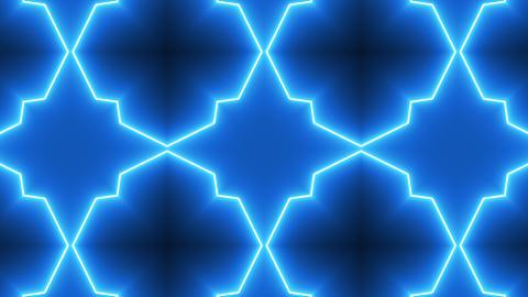Neon Kaleidoscope Background GIF