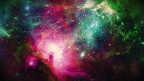 Space Galaxy Background CG動画素材