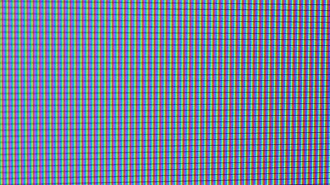 TV or computer screen in extreme closeup Footage