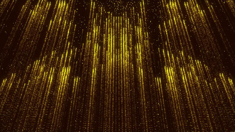 Background Animated Golden Gorgeous Flicker Particles Flares Glitter Animation