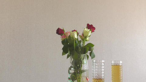 Still life with roses GIF