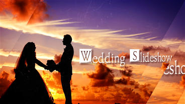 Wedding Slideshow Plantilla de After Effects