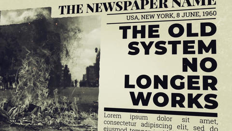 Newspaper Investigation After Effects Template
