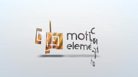 Sliced Logo After Effects Template
