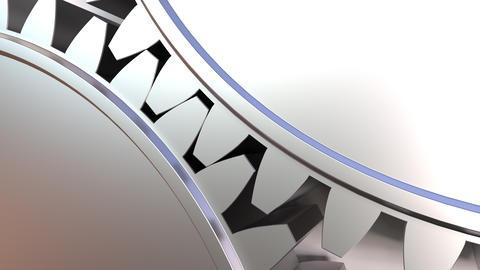 Moving gear wheels Footage