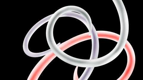Three tentacles Animation