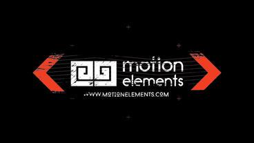 Grunge Glitch Logo Premiere Proテンプレート