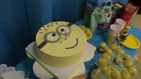 The Happy Birthday Cake Image