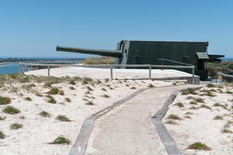 Oliver Hill, Rottnest Island, Western Australia Photo