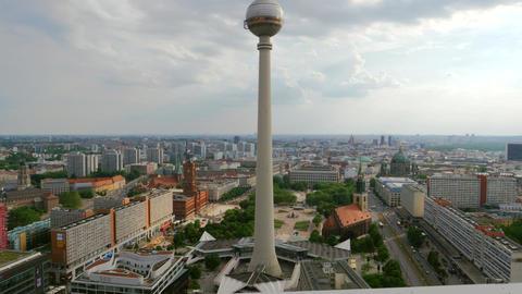 Berlin TV Tower Footage