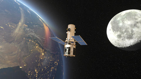 Artificial Satellite&Space Station 0