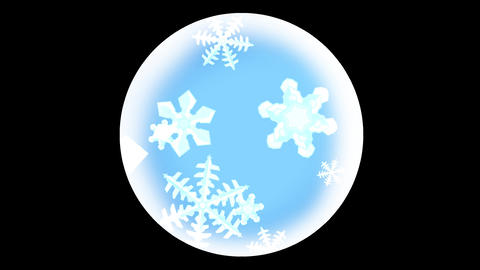 snow crystal effect 2 Animation