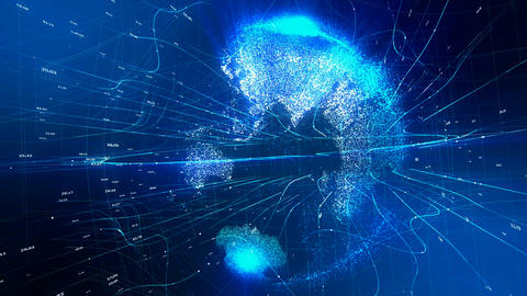 Communication world Animation