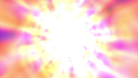 Bright Glowing Tunnel Burst Abstract Motion Background Fast Rotating Animation