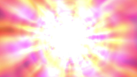 Bright Glowing Tunnel Burst Abstract Motion Background Slow Rotating Animation