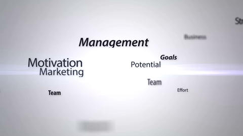 Business success animation Stock Video Footage