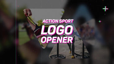 Action Sport Logo Opener Premiere Pro Template