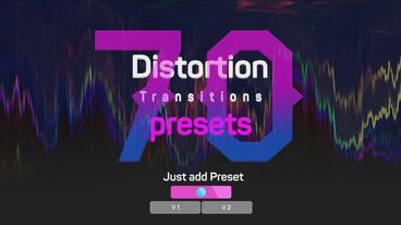 Fast Glitch Transitions Presets Premiere Proテンプレート