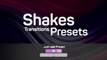 Shakes Transitions Presets Premiere Pro Template