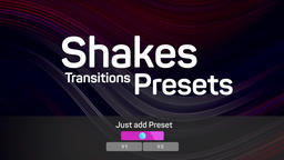 Shakes Transitions Presets Premiere Proテンプレート
