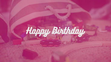 Happy Birthday PR Premiere Pro Template