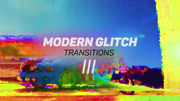 Modern Glitch Transitions