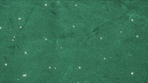 Green velvet and many stars (loopable) CG動画