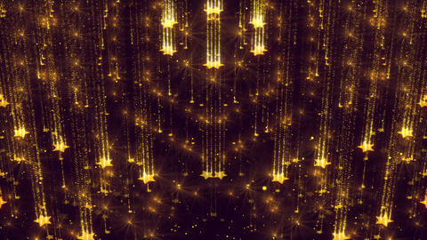 Background Sparkles Star Glitter Animated Elegant Gold Shimmer Animation
