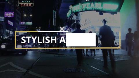 Stylish Slideshow Premiere Pro Template